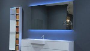 led cermin kaca kamar mandi