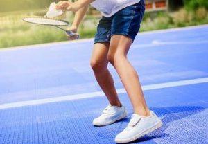 pemanasan saat badminton