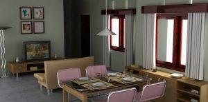 seni minimalis rumah moderen