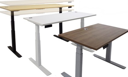 meja elektrik sesuai ketinggian
