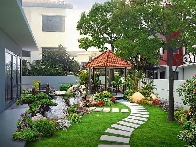 Menata taman sendiri