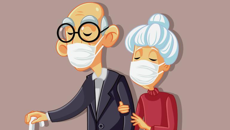 lansia hidup di masa pandemi