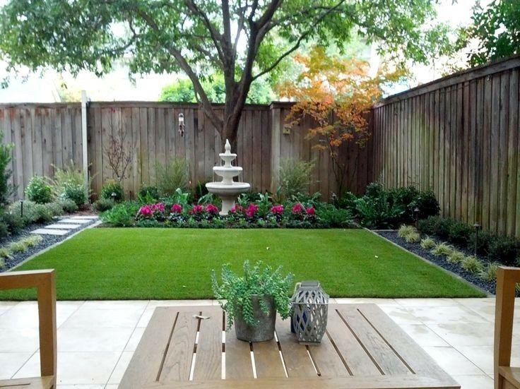 pemeliharaan taman belakang